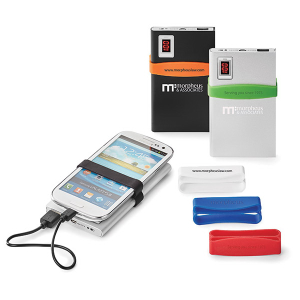Commander 4,000 mAh UL Certified Power Bank